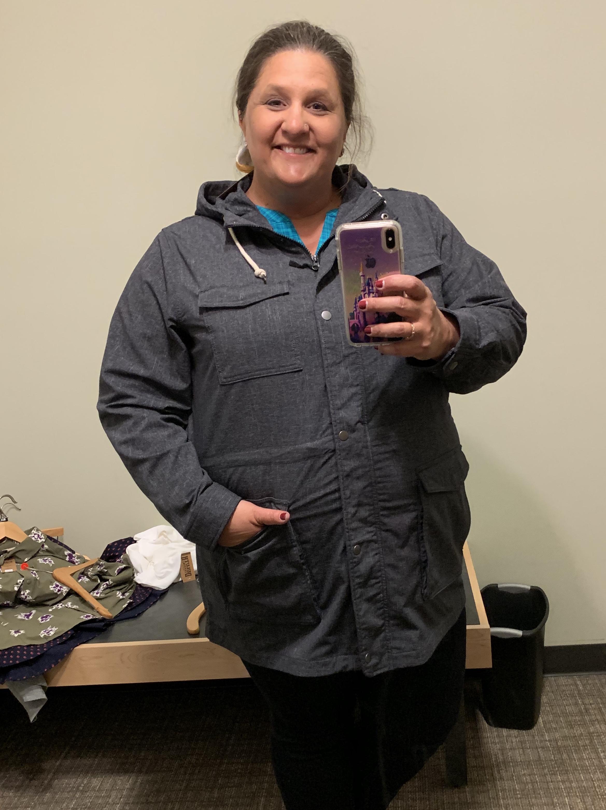 Duluth Trading Company, Plus Size Review, Plus Size Outdoor Gear, Plus Size Blogger, St. Louis Blogger, Plus Size Jacket, Mist Master Jacket